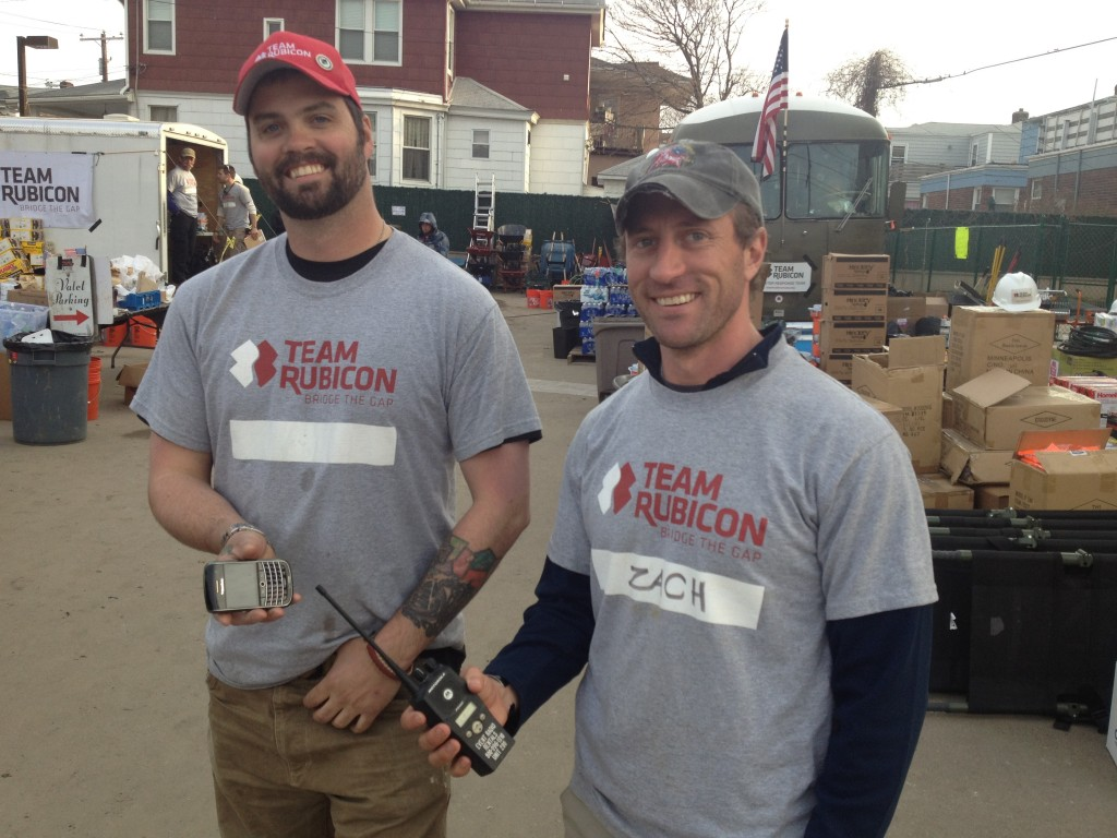 Zach and Dan of Team Rubicon